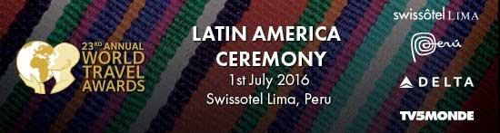 World Travel Awards Latin America Gala Ceremony 2016