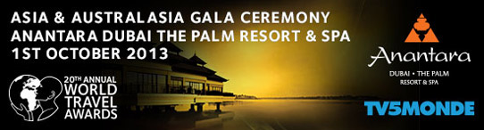 World Travel Awards Asia  Australasia Gala Ceremony 2013