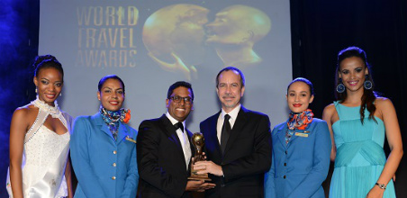 Air Seychelles - Indian Ocean's Leading Airling 2015
