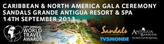 World Travel Awards Caribbean  North America Gala Ceremony 2013