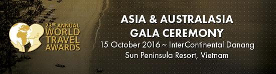 World Travel Awards Asia  Australasia Gala Ceremony 2016
