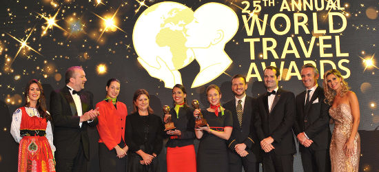 World Travel Awards Grand Final 2018 winners