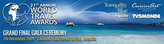World Travel Awards headed to Anguilla for Grand Final 2014