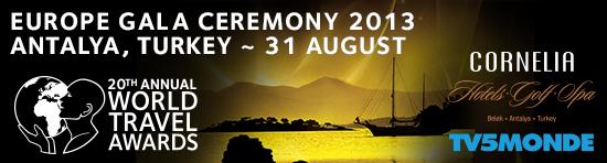 World Travel Awards Europe Gala Ceremony 2013