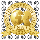 World Travel Awards Winner Shield 2003